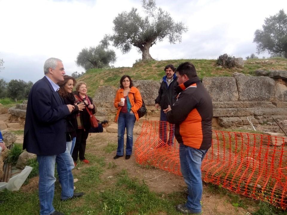 Akropoli Arxaias Spartis - Voudouris