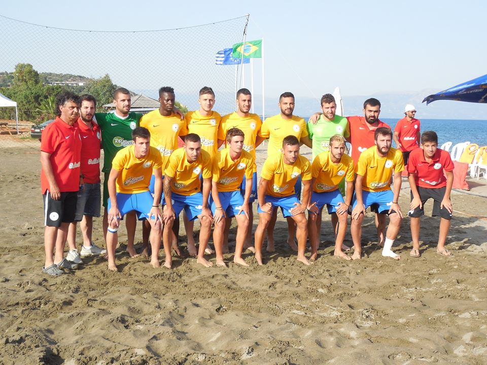 Beach soccer Manis
