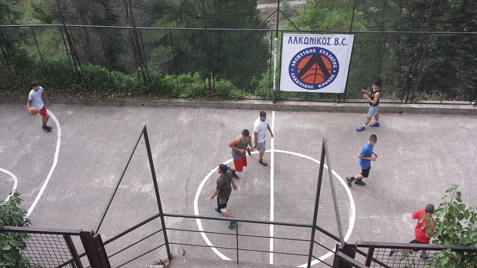 basket camp Parnona