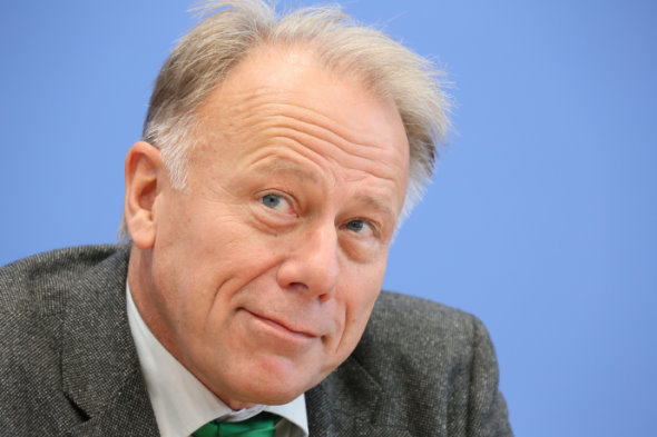 Jurgen Trittin (front)