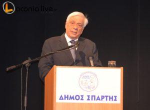 Proedros Dimokratias Pavlopoulos epitimos dimotis Spartis (12)